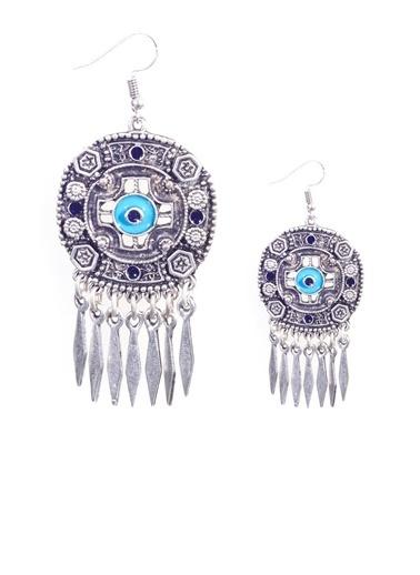 Labalaba Küpe Gümüş